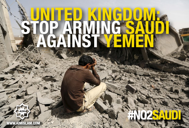 Petition to stop supporting Saudi Arabia against Yemen