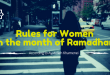 Q&A: Rules for Women in the month of Ramadhan