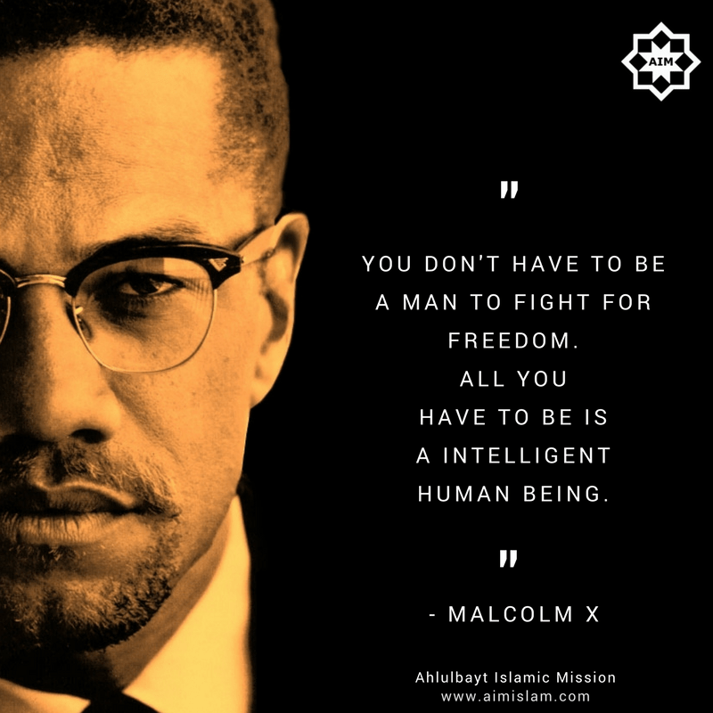 6 thought-provoking quotes by Malcolm X